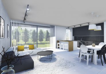 Vizualizacija stanovanja - dnevni prostor